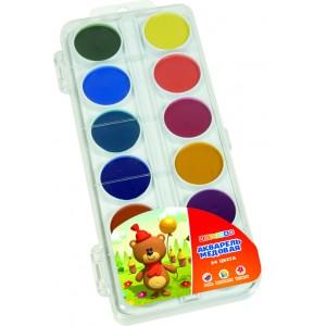 Набор детской акварели, 24 цвета