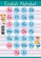Алфавит английский. Образцы письменных букв (формат А5)